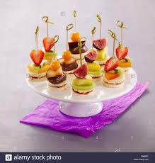 canapes fruit fruit canapes stock photo royalty free image 92040207 alamy