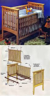 Convertible Crib Plans by 58 Best Children U0027s Furniture Plans Images On Pinterest Furniture