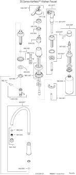 moen single handle kitchen faucet parts moen single handle kitchen faucet repair diagram 7400 top head