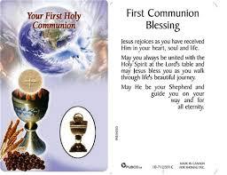 blessing card communion blessing prayer card