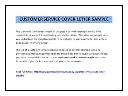 cover letter for customer service efficiencyexperts us
