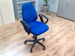 blue desk chairs purple fabric cantilever office meeting chairs without arm