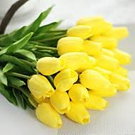 Polyester Flowers - tulips artificial flowers search lightinthebox