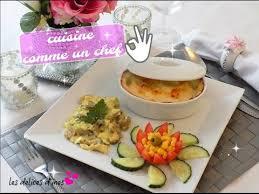 cuisiner comme un chef recettes cuisine comme un chef recette gratin chou fleur sauce chignon