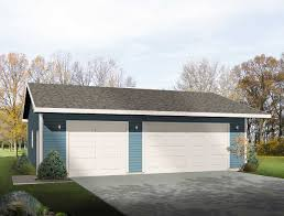 simple three car garage 2218sl architectural designs house plans