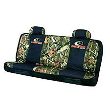 amazon com mossy oak seat cover full bench infinity camo pack