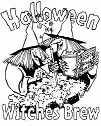 free halloween coloring pages printable adults happy