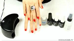 diy gel nails using gelcolor by opi u2014 not a model