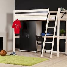 Desk With Bed by Bedroom Bedroom Loft Beds For Teenagers And Wooden Bunk Bed With
