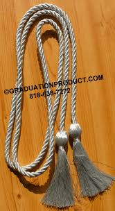 graduation cords cheap metallic silver graduation honor cords