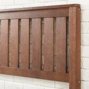 Solid Wood Headboard Queen by Zinus Queen 12 Inch Deluxe Solid Wood Platform Bed With Headboard