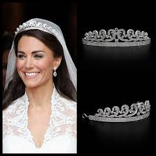 kate middleton wedding tiara aliexpress buy kate william royal rhinestone