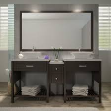 Double Vanity With Tower Double Vanity With Tower Wayfair