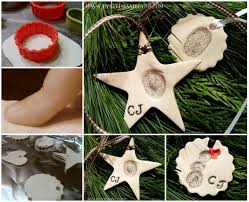 woderful diy thumbprint clay ornaments
