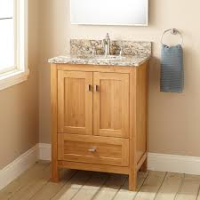 sunco use reclaimed wood to make an easy floating bathroom vanity