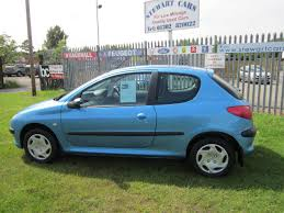 blue peugeot second hand peugeot 206 1 1 look2 3dr for sale in doncaster south