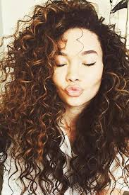 easy curling wand for permed hair thick voluminous natural curls ashley moore s hair is such an