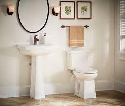 Pictures Of Pedestal Sinks In Bathroom by Blaze Single Hole Standard Pedestal Bathroom Sink Gerber Plumbing