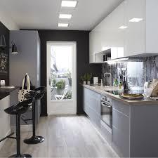 cuisine et grise meuble de cuisine gris delinia leroy merlin