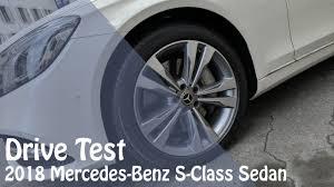 2018 mercedes benz s class sedan drive test youtube