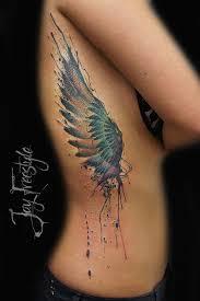 watercolor wing side best design ideas