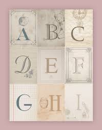 nursery alphabet wall art free printables how to nest for less a i