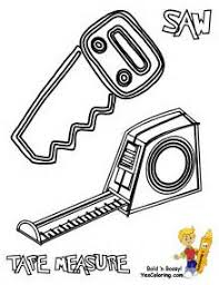 construction tools coloring pages coloring pages