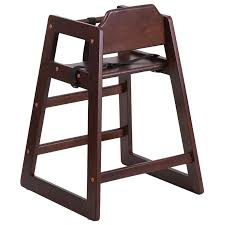 walnut restaurant baby high chair restaurant kids chairs