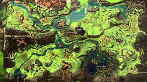 Gw2 World Map by Gw2 Queensdale Map Gathering Youtube