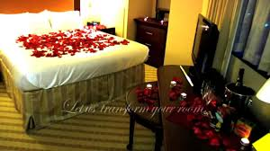 Romantic Room Decorate A Romantic Hotel Room Any Hotel Or B U0026b In The U S