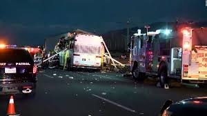 California Bill Of Sale Vehicle by California Tour Bus Crash 13 Killed In Collision With Semi Cnn