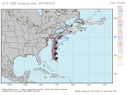 hurricane weary u s closely watching another storm jose as it