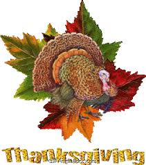 turkey on green leaves thanksgiving animation gif animations