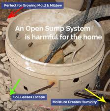 Basement Water Pump by Using An Open Or Closed Channel Sump Pump In Interior Basement