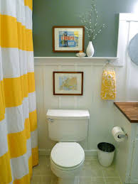 attractive apartment bathroom decorating ideas with plant decor on
