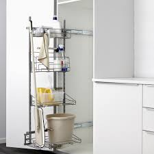 kitchen pantry organizers ikea utrusta pull out rack for cleaning supplies