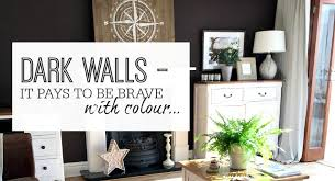 dark walls dark walls it pays to be brave with colour when using them