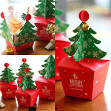 lots merry tree bell paper boxes gift