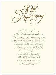 sle wedding program wording 50th wedding anniversary invitation wording wedding invitations