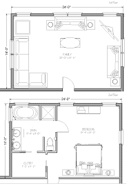 House Plans With In Law Suites Family Room Addition Floor Plans Akioz Com