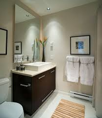 Modern Small Bathroom Design Ideas With Floating Sink Bathroom Minimalist Small Bathroom With White Towel And Floating