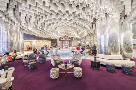 2 Chic And Cozy Cosmopolitan Why The Lobby Is The Most Important Space In Las Vegas Las Vegas