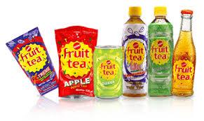 Teh Fruity distributor sosro produk sosro terbaik