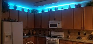 kitchen cabinet led lighting rgb lights are used for above kitchen cabinet accent