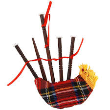 plaid bagpipe ornament bronner s