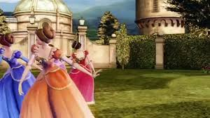 barbie 12 dancing princesses cartoon 2015 movie video