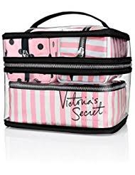 victoria s secret train case cosmetic makeup bags 4