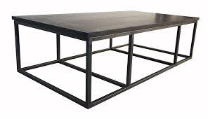 Coffee Table Granite Rectangle Black Granite Coffee Table Counter Top Plus Black Steel