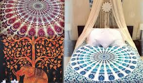 indian hippie tapestries for perfect home decor and bedroom