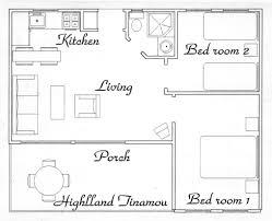 Furniture For Floor Plans Boquete Hotels Panama Highland Tinamou Cottage Jungle Eco Lodge